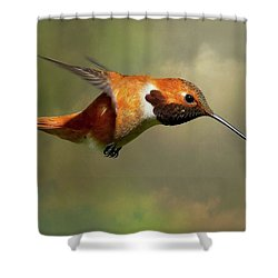 Encounter 3 Shower Curtain