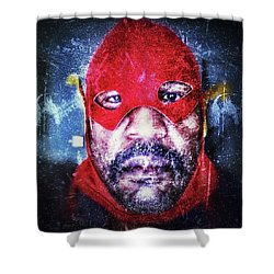Encounters With Lord Harden Number One Shower Curtain