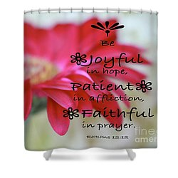 Encouragement Shower Curtain