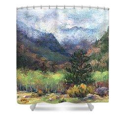 Encroaching Clouds Shower Curtain