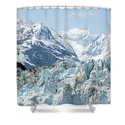 Glaciers End Of A Journey Shower Curtain