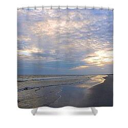 End Of Day Beauty Shower Curtain