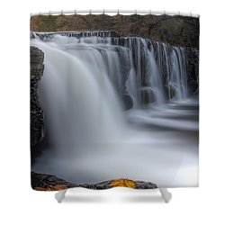 End Of Fall Shower Curtain