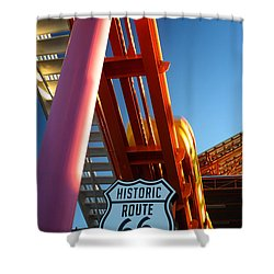 End Of Route 66 2 Shower Curtain