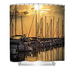 End Of Season Shower Curtain by James  Meyer