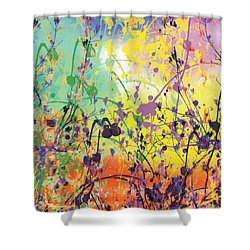 Shower Curtain featuring the digital art End Of Summer 2015 by Trilby Cole