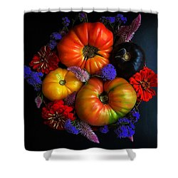 End Of Summer Colors Shower Curtain
