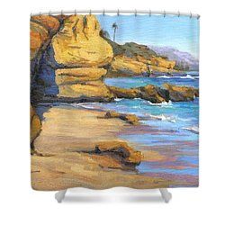 End Of Summer / Laguna Beach Shower Curtain