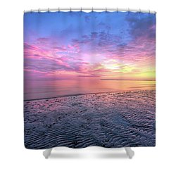 End Of The Day. Shower Curtain