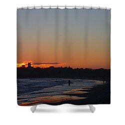 End Of The Island Day. Shower Curtain