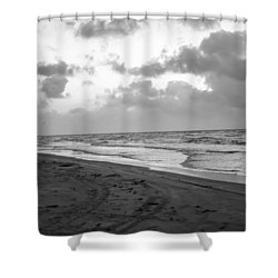 End Of The Season Padre 1 Shower Curtain