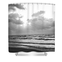 End Of The Season Padre 2 Shower Curtain