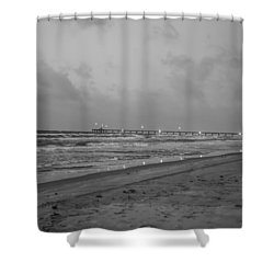End Of The Season Padre 4 Shower Curtain