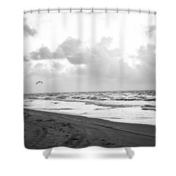 End Of The Season Padre 5 Shower Curtain