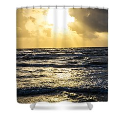 End Of The Season Padre 59 Shower Curtain