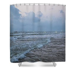 End Of The Season Padre 8 Shower Curtain
