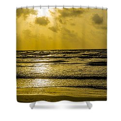 End Of The Season Padre 85 Shower Curtain