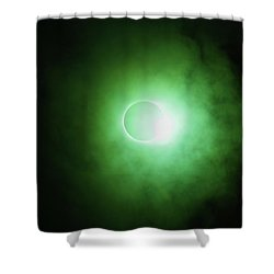 End Of Totality Shower Curtain