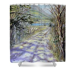 End Of Winter Shower Curtain