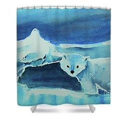 Endangered Bears Shower Curtain