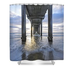 Shower Curtain featuring the photograph Endless by Dustin  LeFevre