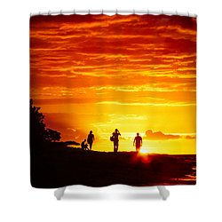 Shower Curtain featuring the photograph Endless Fiju by T Brian Jones