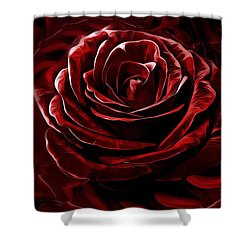 Endless Love Shower Curtain by Gabriella Weninger - David