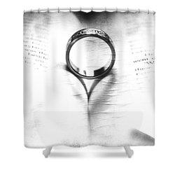 Endless Shower Curtain by Martina Fagan