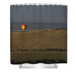 Endless Plains  Shower Curtain by Ramabhadran Thirupa ttur