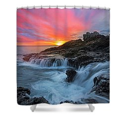 Endless Sea Shower Curtain by James Roemmling
