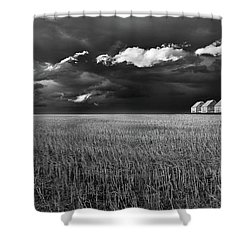 Shower Curtain featuring the photograph Endless Sky by John Poon