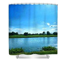Endless Summer Shower Curtain