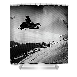 Shower Curtain featuring the photograph Endorphin High  by Dennis Baswell