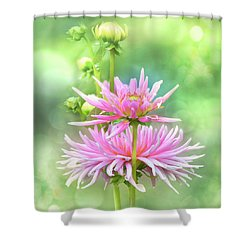 Shower Curtain featuring the photograph Enduring Grace by John Poon
