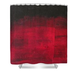 Shower Curtain featuring the painting Energie Intense by Nicole Nadeau