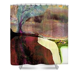 Energy Cycle No 1. Shower Curtain