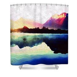 Energy Flow Shower Curtain