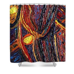 Energy Of Two Shower Curtain