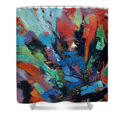 Energy Release Shower Curtain