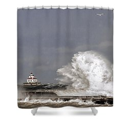 Energy Released Shower Curtain