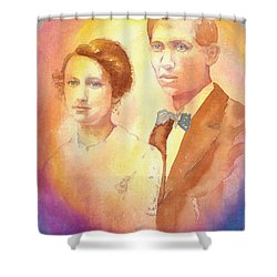 Engagement Day Shower Curtain