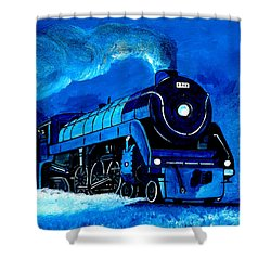 Engine # 1961 Shower Curtain