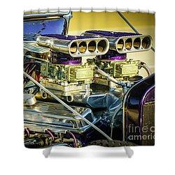 Engine 2x4 Shower Curtain