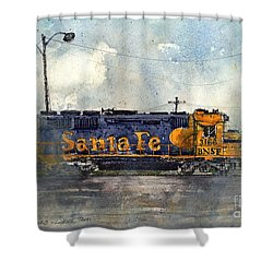 Engine 3166 Shower Curtain by Tim Oliver