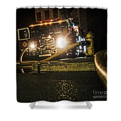 Engine 4 Shower Curtain