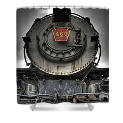 Engine 460 Front And Center Shower Curtain