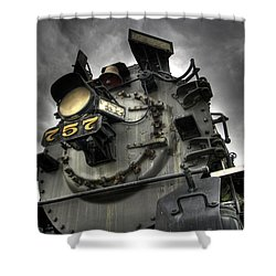 Engine 757 Shower Curtain by Scott Wyatt