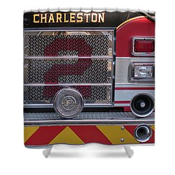 Engine Number Two Shower Curtain