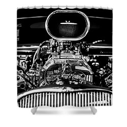 Engine Shower Curtain