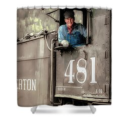 Engineer 481 Shower Curtain